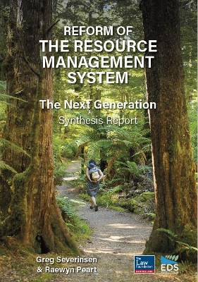 Photo of cover of final synthesis report from EDS titled REFORM OF THE RESOURCE MANAGEMENT SYSTEM � THE NEXT GENERATION